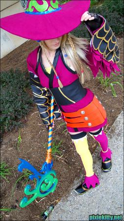 Rikku from Final Fantasy X-2 worn by Pixie Kitty