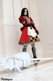 Alice from American McGee's Alice worn by Pixie Kitty
