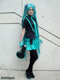 Hatsune Miku from Vocaloid worn by Pixie Kitty