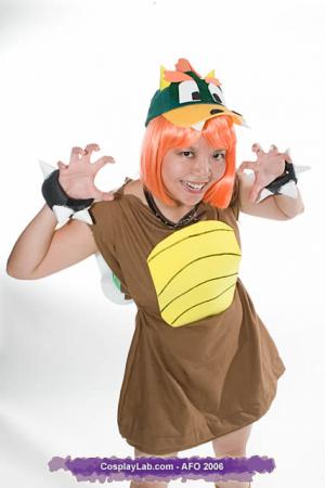 Bowser from Mario Bros worn by Mitylene