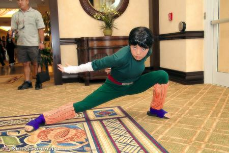 Rock Lee from Naruto worn by Mitylene