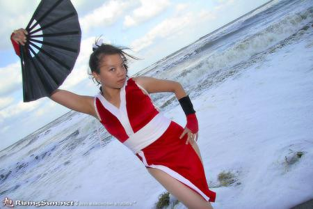 Mai Shiranui from King of Fighters 1994 worn by Mitylene