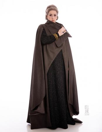 General Leia from Star Wars Episode 8: The Last Jedi