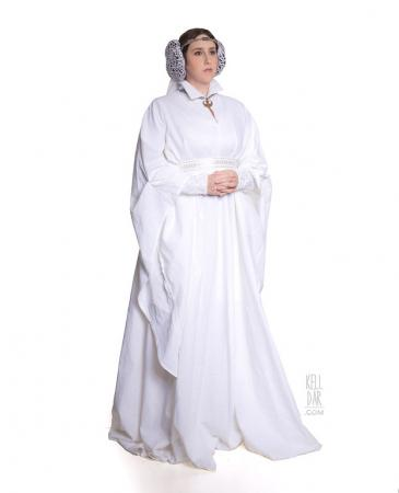 Princess Leia Organa from Star Wars worn by Kelldar