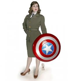 Peggy Carter from Captain America worn by Kelldar