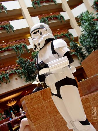 Stormtrooper from Star Wars Episode 4: A New Hope