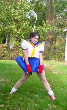 Sakura Kasugano from Street Fighter II worn by Sugar