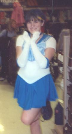 Sailor Mercury from Sailor Moon worn by Sugar