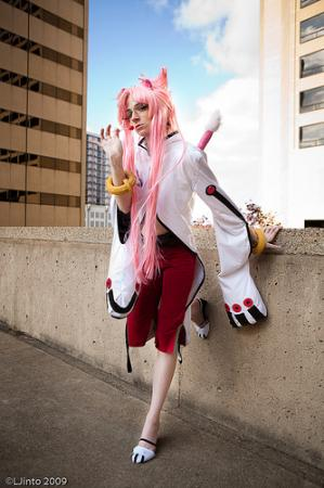 Kokonoe from BlazBlue: Calamity Trigger worn by Lady Ava