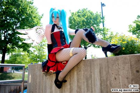 Hatsune Miku from Vocaloid 2 worn by Lady Ava