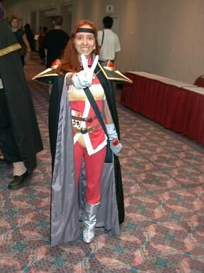 Lina Inverse from Slayers TRY worn by Lafiel
