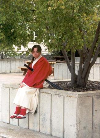 Kenshin Himura from Rurouni Kenshin worn by Lafiel