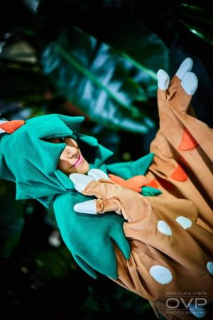 Decidueye from Pokemon by SEWthoughtful
