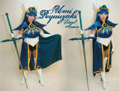 Umi Ryuuzaki from Magic Knight Rayearth worn by angelsamui