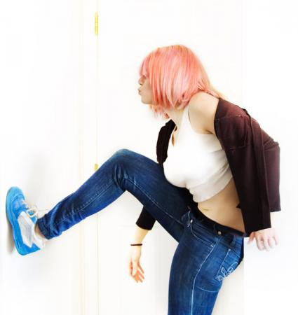 Haruko Haruhara from FLCL worn by Chiko