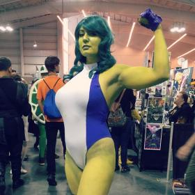 She Hulk from Marvel vs Capcom 3 worn by Chiko