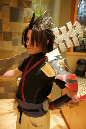 Terra from Kingdom Hearts Birth by Sleep worn by Khamryn