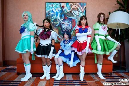 Eternal Sailor Pluto (Sailor Moon Sailor Stars)  by Eri Kagami