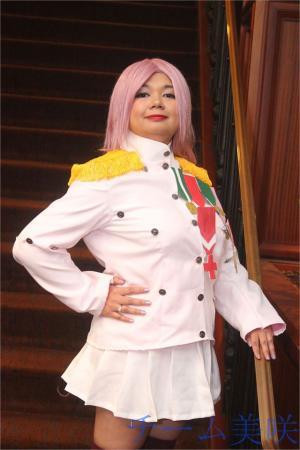 Utena Tenjou from Revolutionary Girl Utena worn by Eri Kagami