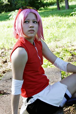 Sakura Haruno from Naruto Shippūden worn by Angelwing