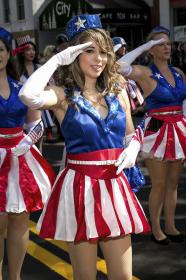 USO Girl from Captain America worn by Angelwing
