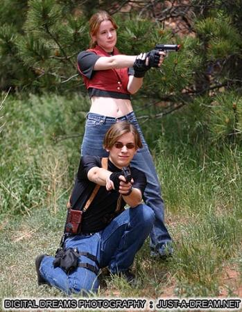 Claire Redfield from Resident Evil: Code Veronica worn by Wuntavor