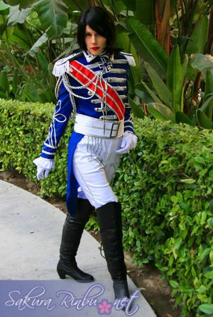 Andre Grandier from Rose of Versailles worn by Merry Shannon