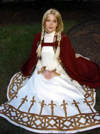 Princess Ovelia from Final Fantasy Tactics worn by HyperrrMouse