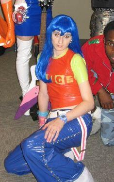 Alice from Dance Dance Revolution