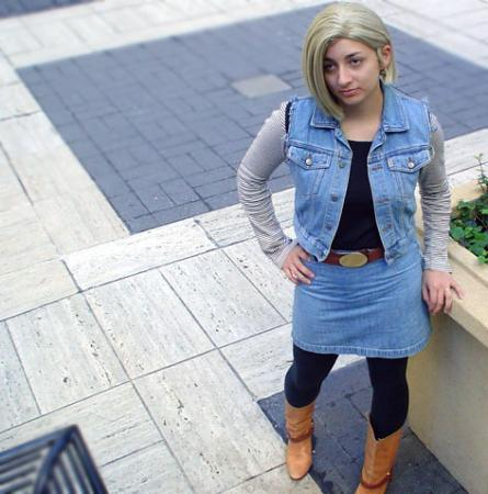 Android #18 from Dragonball Z worn by number18