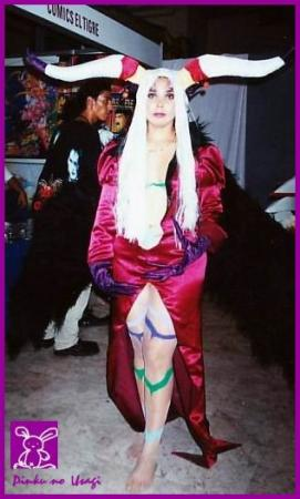 Ultimecia from Final Fantasy VIII worn by Marisol