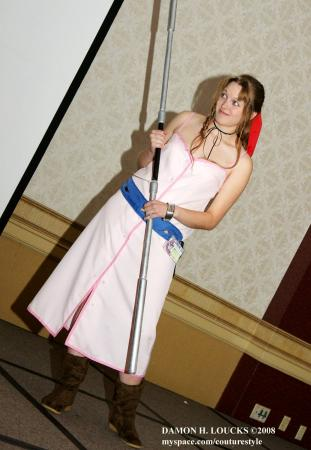 Aeris / Aerith Gainsborough from Kingdom Hearts worn by Gale