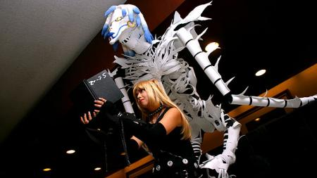 Rem from Death Note worn by Evali