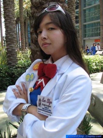 Ema Skye from Phoenix Wright: Ace Attorney worn by Evali