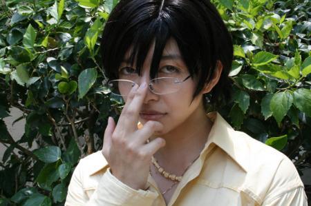 Kyoya Ootori from Ouran High School Host Club worn by Evali