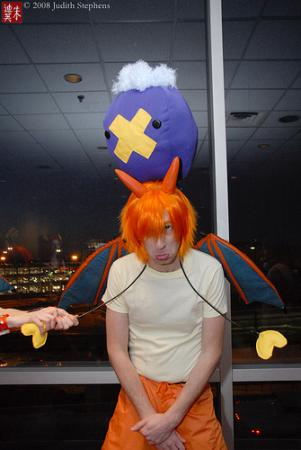 Drifloon from Pokemon worn by Evali