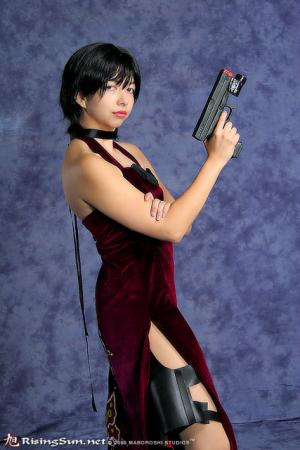 Ada Wong from Resident Evil 4 worn by Evali
