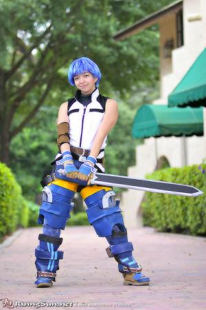 Fayt / Fate Linegod from Star Ocean 3: Till the End of Time worn by Evali