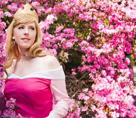 Princess Aurora from Sleeping Beauty worn by Ambrosia