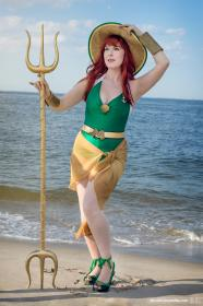 Mera from DC Comics worn by Ambrosia