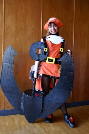 May from Guilty Gear XX worn by CherryTeaGirl