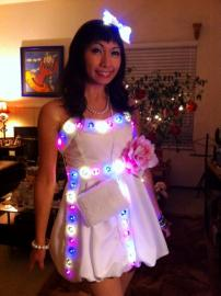 Holiday Party Dress from Original Design worn by CherryTeaGirl