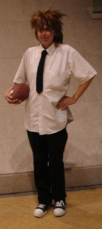 Kobayakawa Sena from Eyeshield 21 worn by Tohma