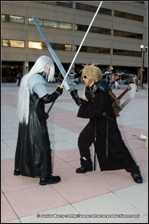 Cloud Strife from Final Fantasy VII: Advent Children worn by Tohma