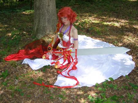 Hikaru Shidou from Magic Knight Rayearth worn by Angel