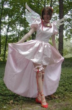 Sakura Kinomoto from Card Captor Sakura worn by Angel