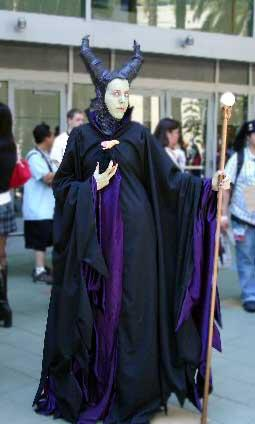 Maleficent from Kingdom Hearts worn by Onyx