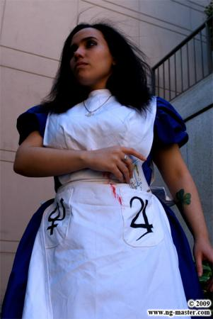 Alice from American McGee's Alice worn by Adrienne Orpheus