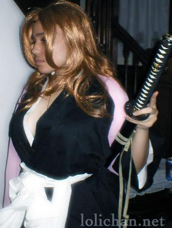 Rangiku Matsumoto from Bleach worn by Adrienne Orpheus