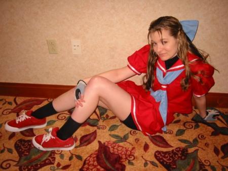 Karin Kanzuki from Street Fighter Alpha 3 worn by Lizzie